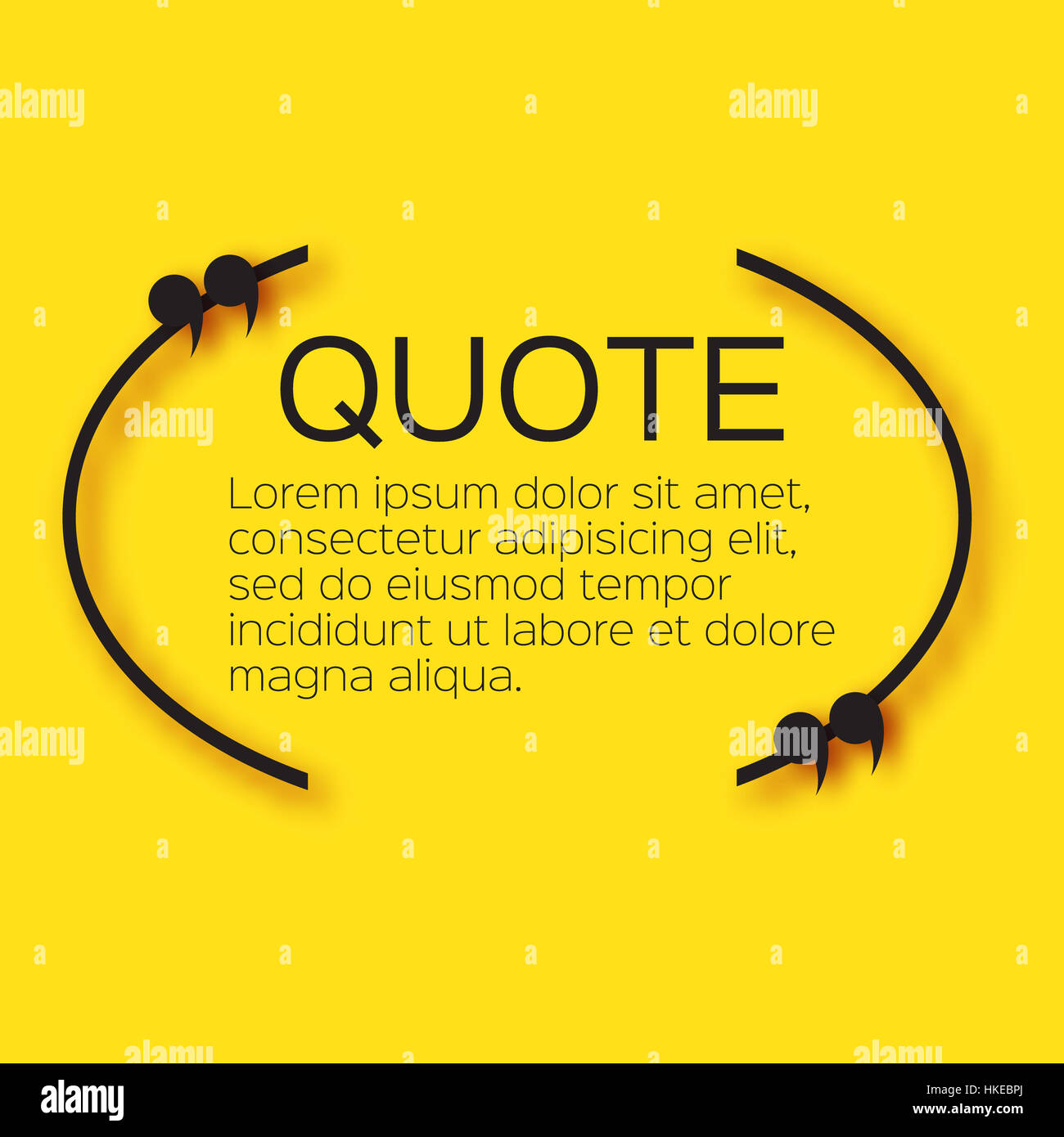 quote bubble empty citation text box template quote blank stock