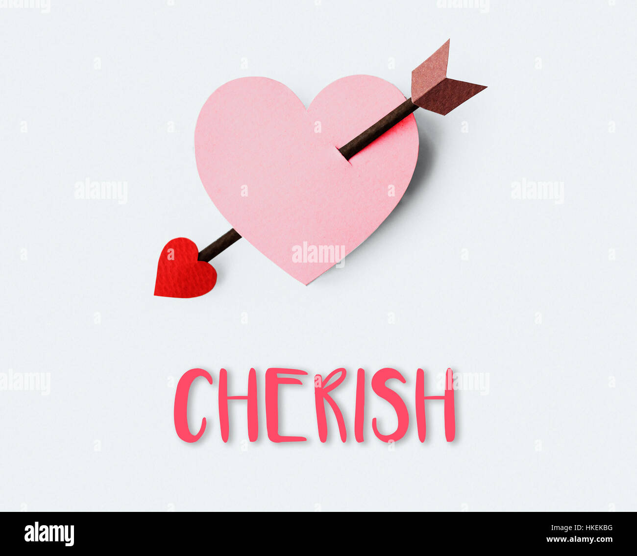 Love Yearning Affection Cherish Tenderness Concept - Stock Image