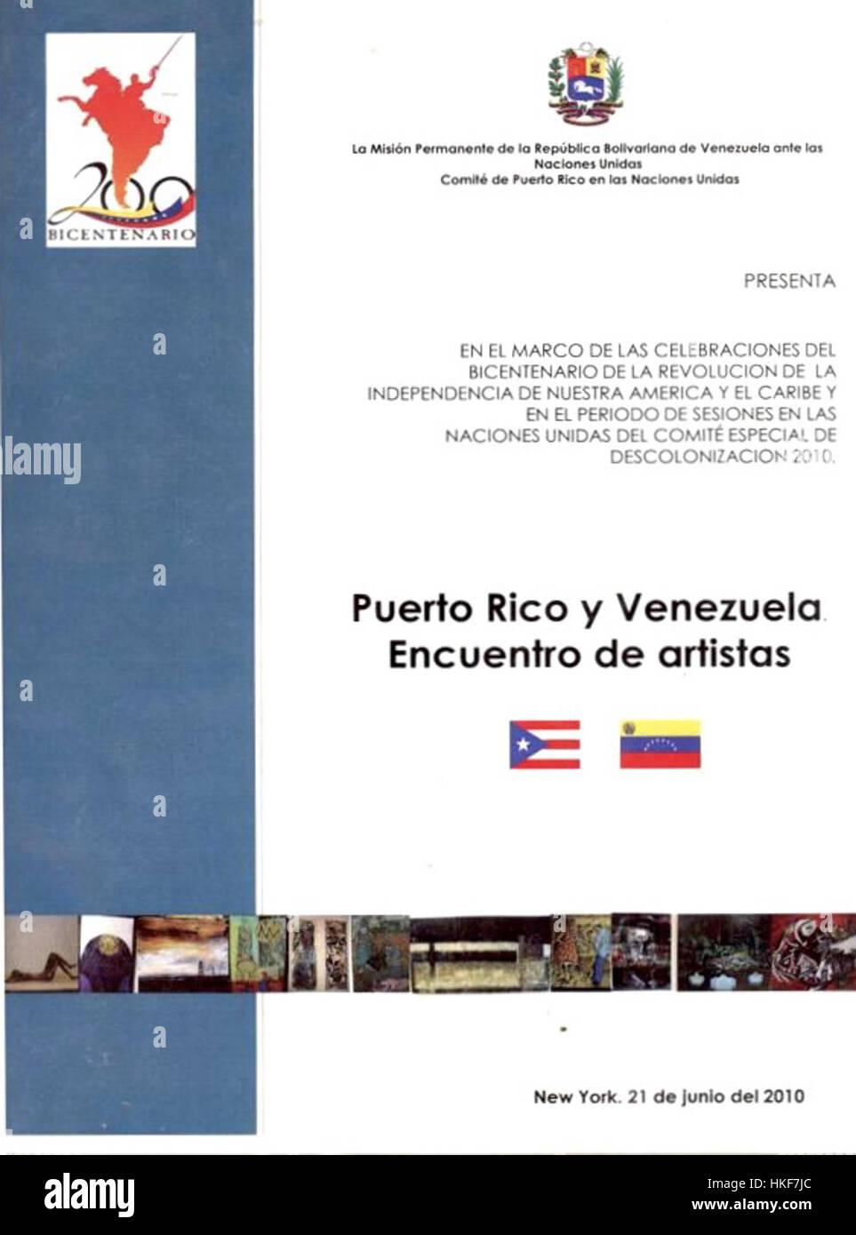 John Kelly Aguilera Venezuelan Artist Recognition Stock