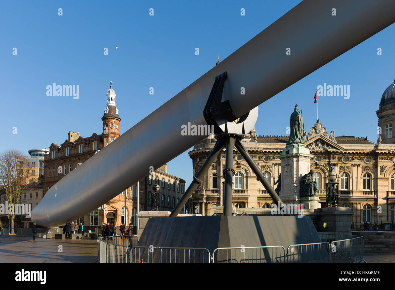 Hull City of Culture The blade  by nayan kulkarni - Stock Image