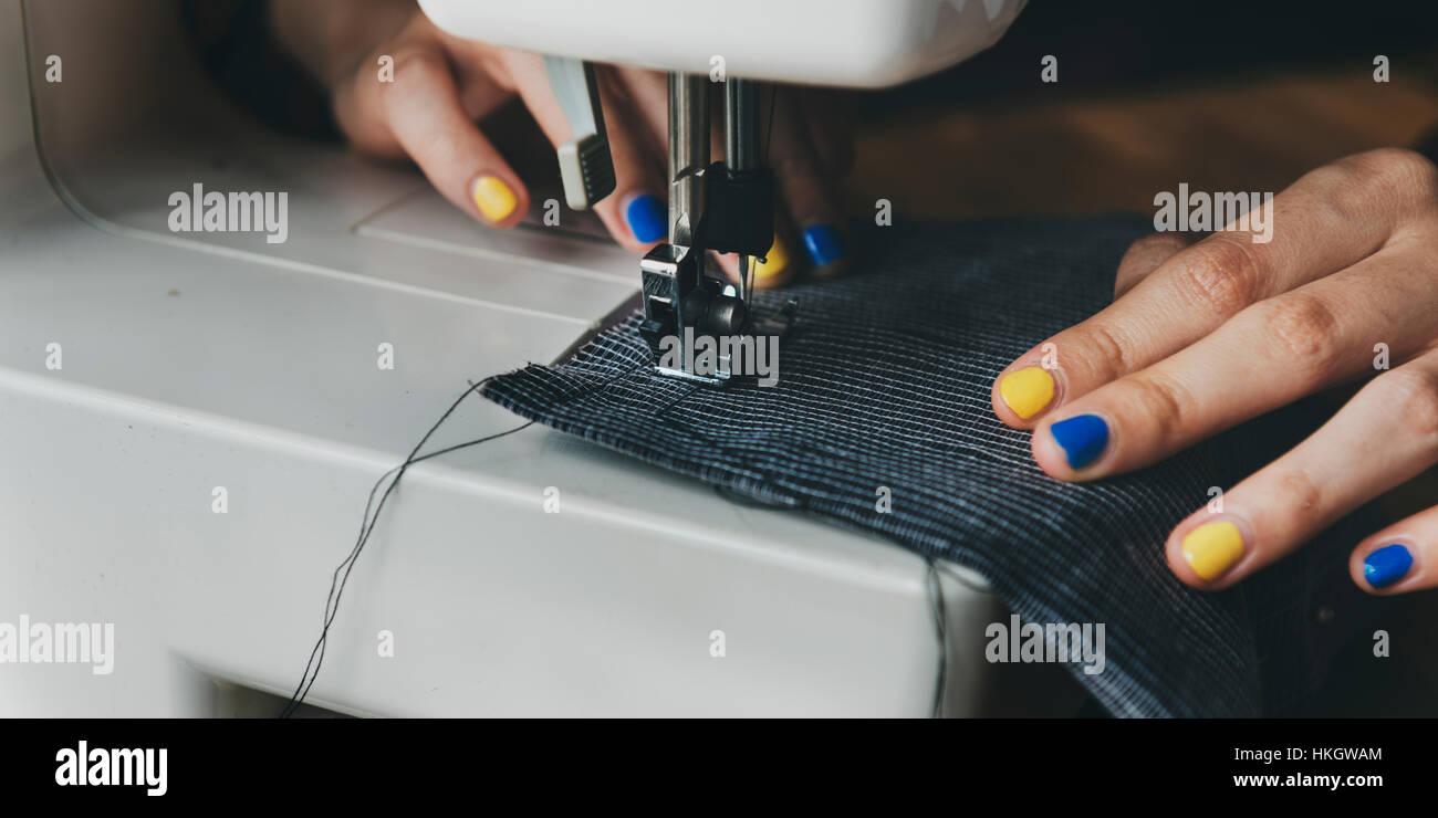 Fashion Designer Cutting Tailor Made Stock Photos & Fashion Designer ...