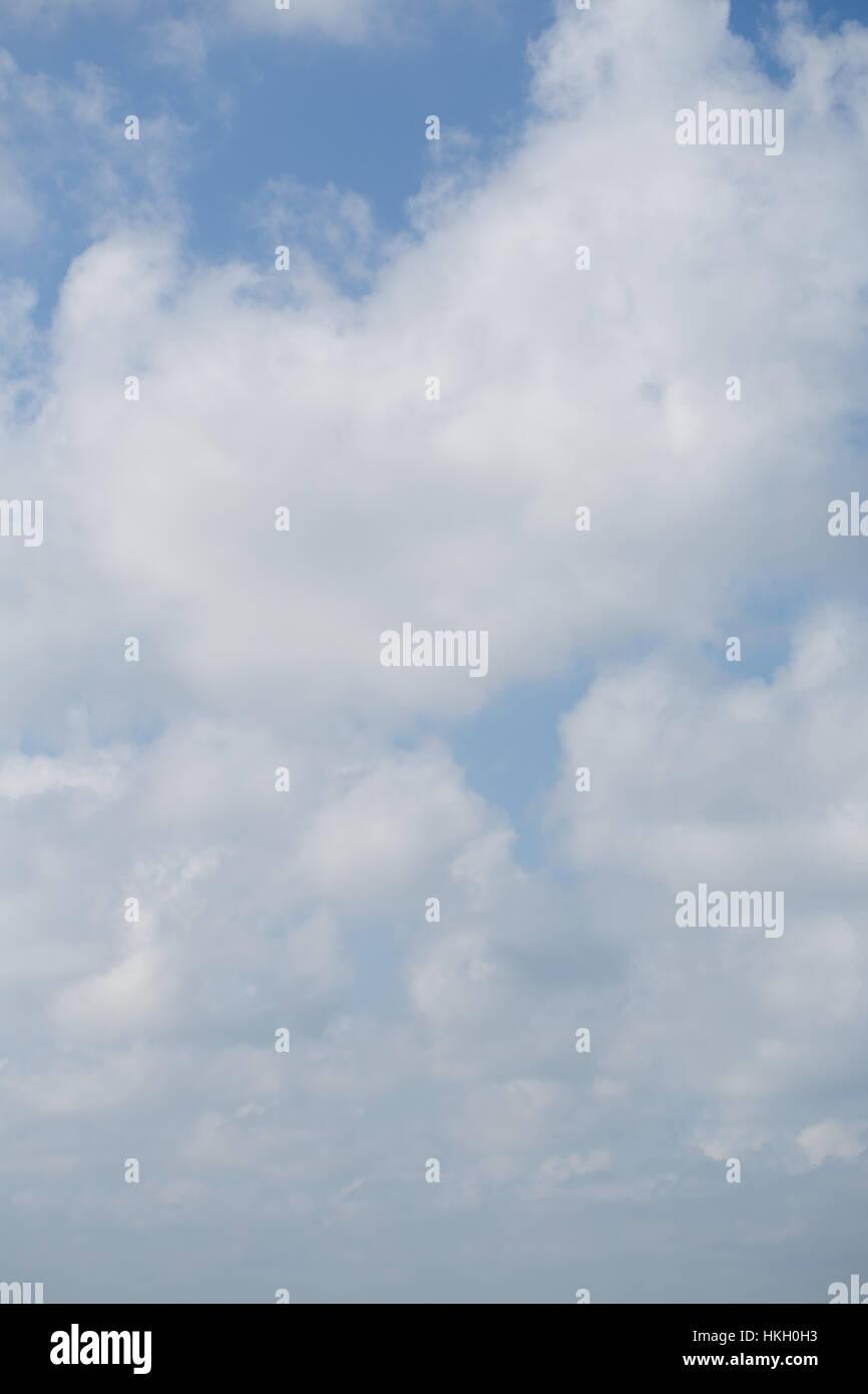 cloudy sky. nature, fresh air, vapour, cloudscape. - Stock Image