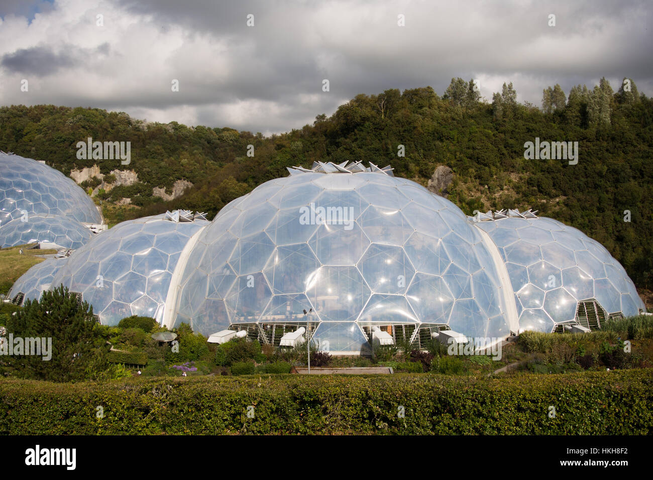 The Eden project, Cornwall, UK - Stock Image
