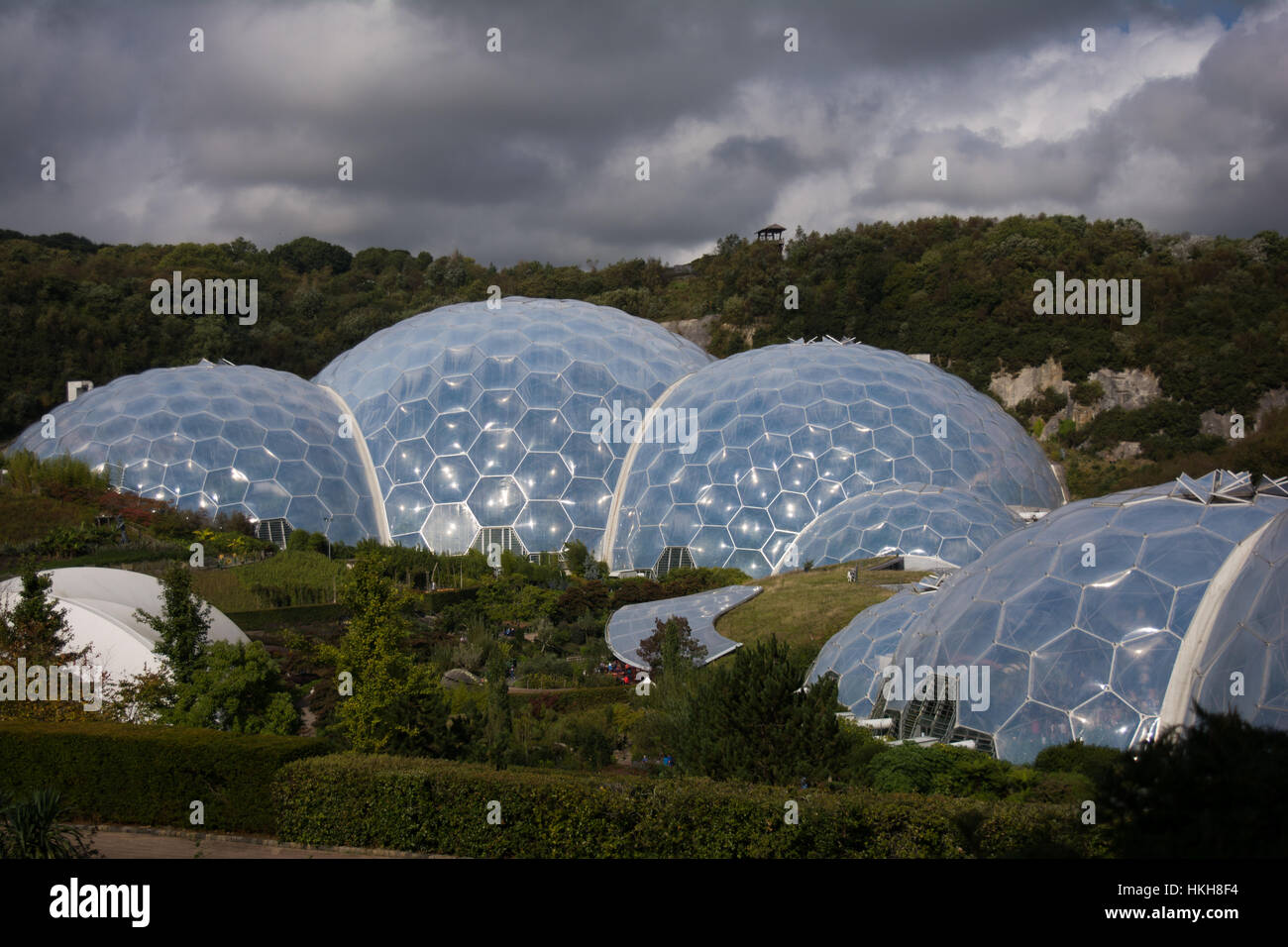 The Eden project, Cornwall, UK Stock Photo