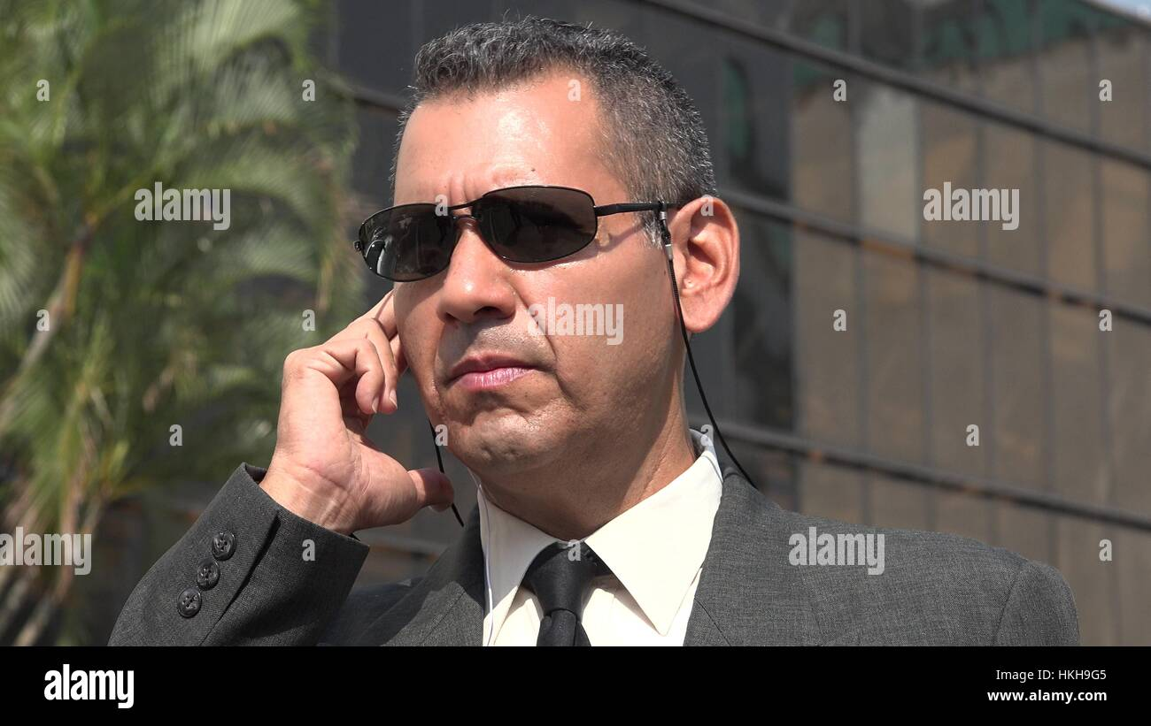 Kgb Or Fbi Agent - Stock Image