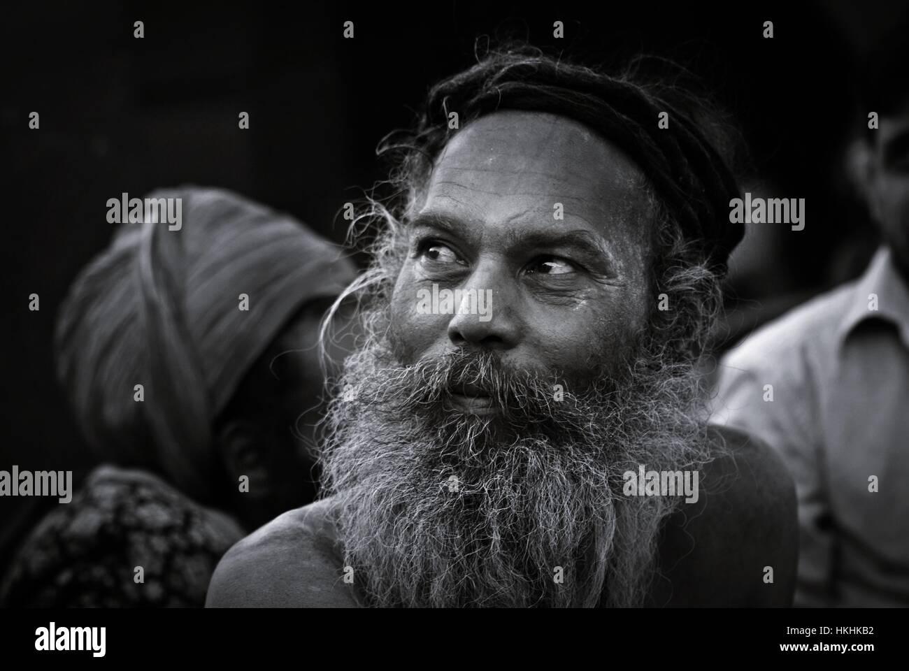 Naga Sadhus - Stock Image
