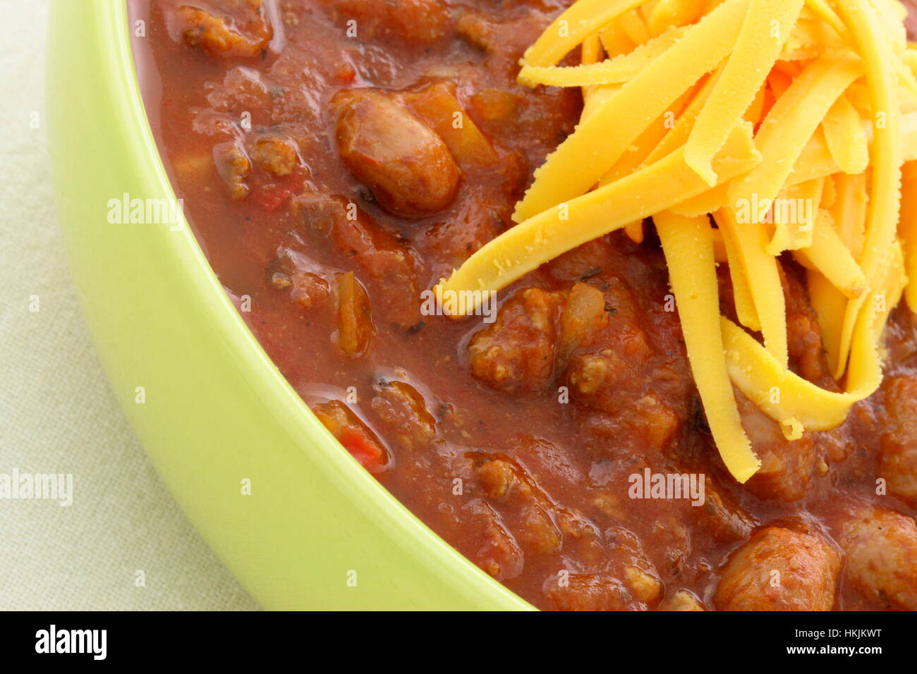 Chili Beans Made With Kidney Beans Lean Ground Beef Chili Powder Stock Photo Alamy