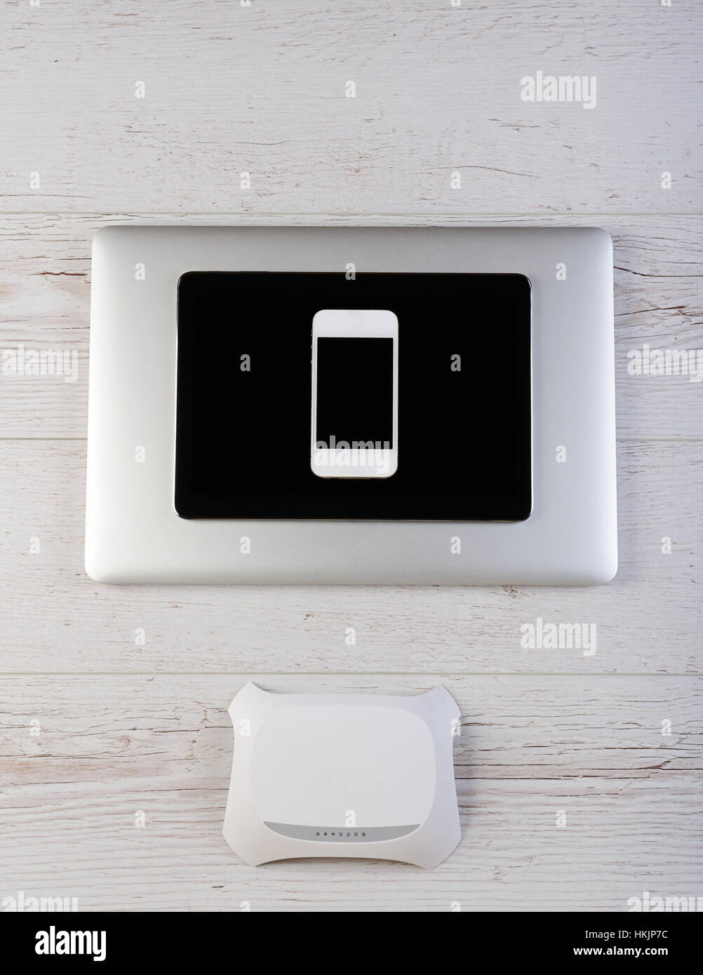 Wifi modem router connect laptop tablet and smartphone stock photo wifi modem router connect laptop tablet and smartphone keyboard keysfo Image collections