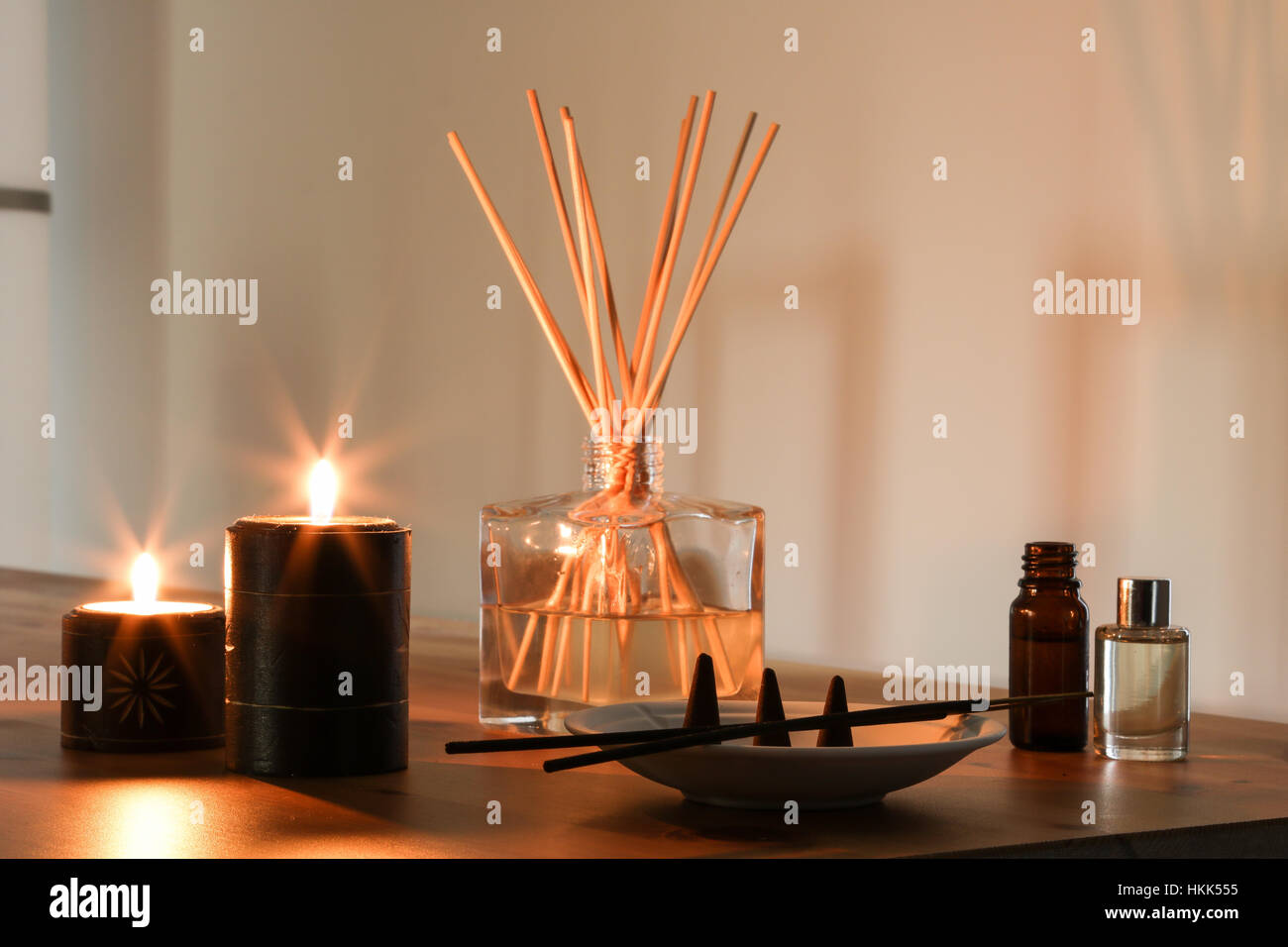 Home Fragrance Atmosphere Candles Incense scent smell glass glow