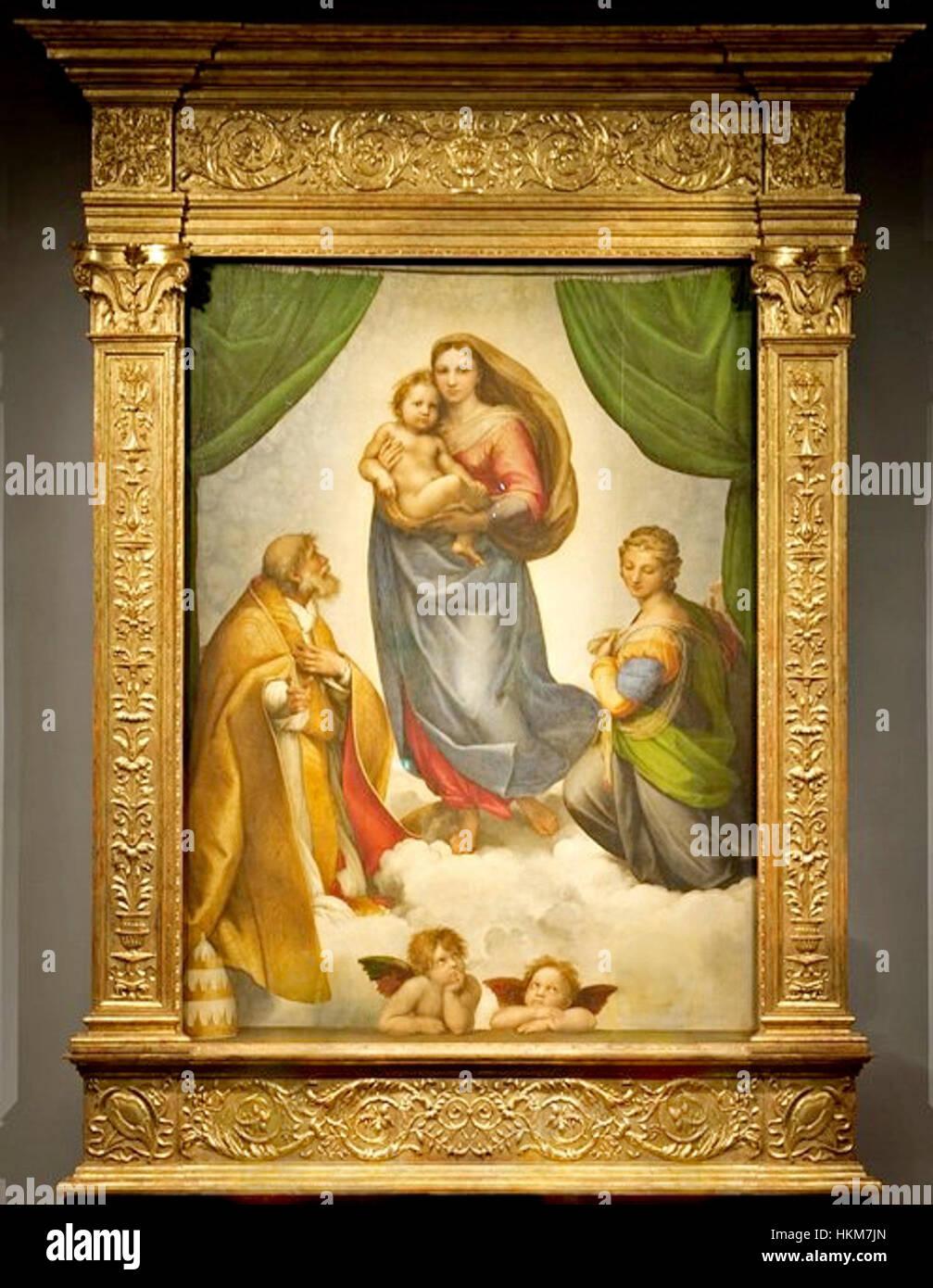 The Sistine Madonna of Raphael. Description of the picture 2