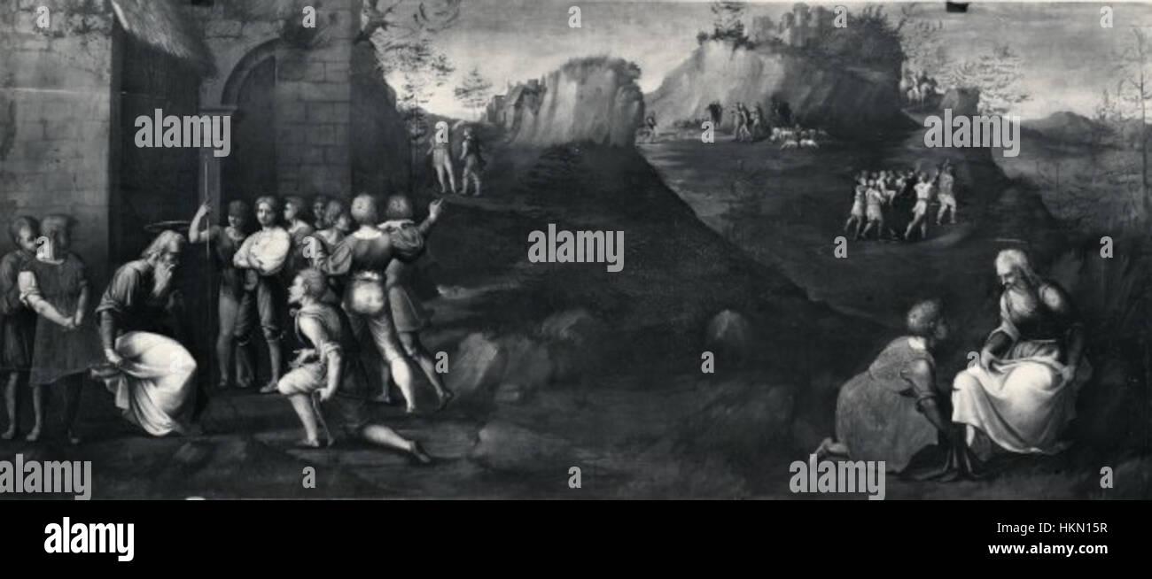 Antonio di donnino del mazziere, storie di giusppe ebreo, galleria borghese Stock Photo