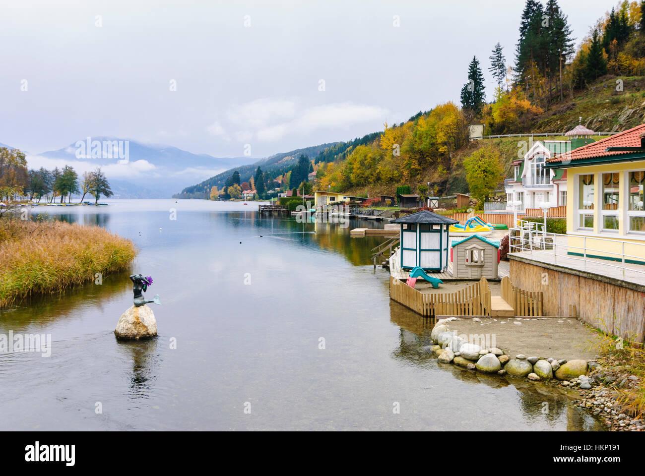 Seeboden: Millstätter See (Lake Millstatt), , Kärnten, Carinthia, Austria - Stock Image
