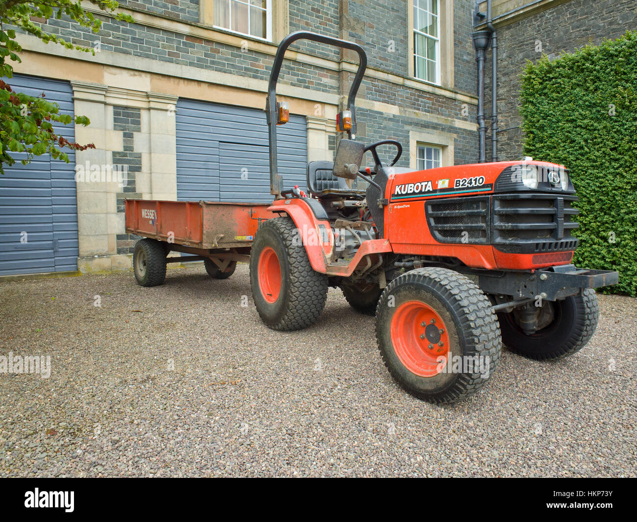 Kubota Tractor Stock Photos Kubota Tractor Stock Images Alamy