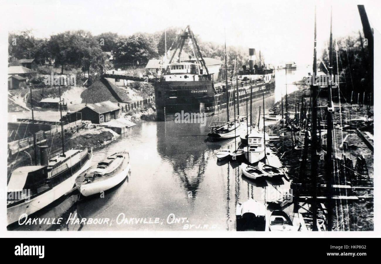 Oakville, ON - Historical Photos (1920-1980) - Stock Image