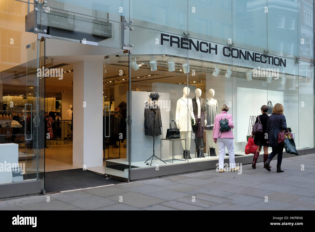 42e642b52ff FRENCH CONNECTION store in Covent Garden, London, UK Stock Photo ...