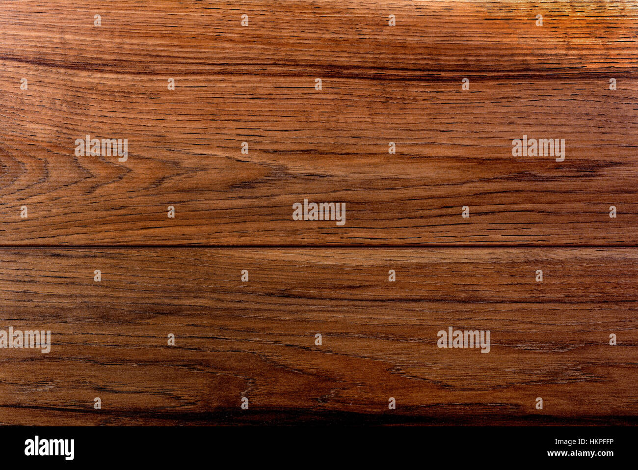Close up detail of wooden laminate flooring. - Stock Image