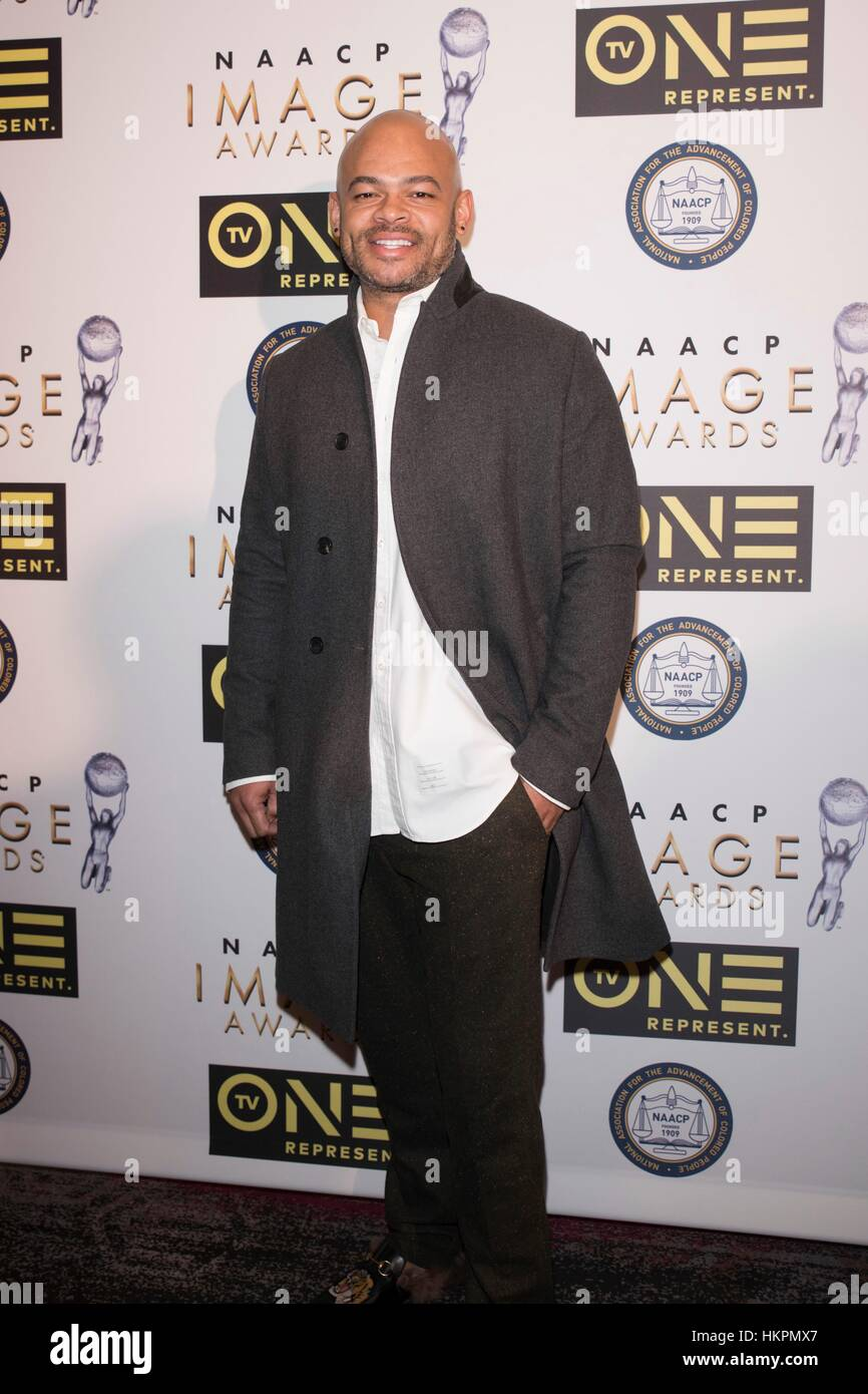 Director Anthony Hemingway attends The 48th NAACP Image Awards Nominees' Luncheon January 28th, 2017 in Loews - Stock Image