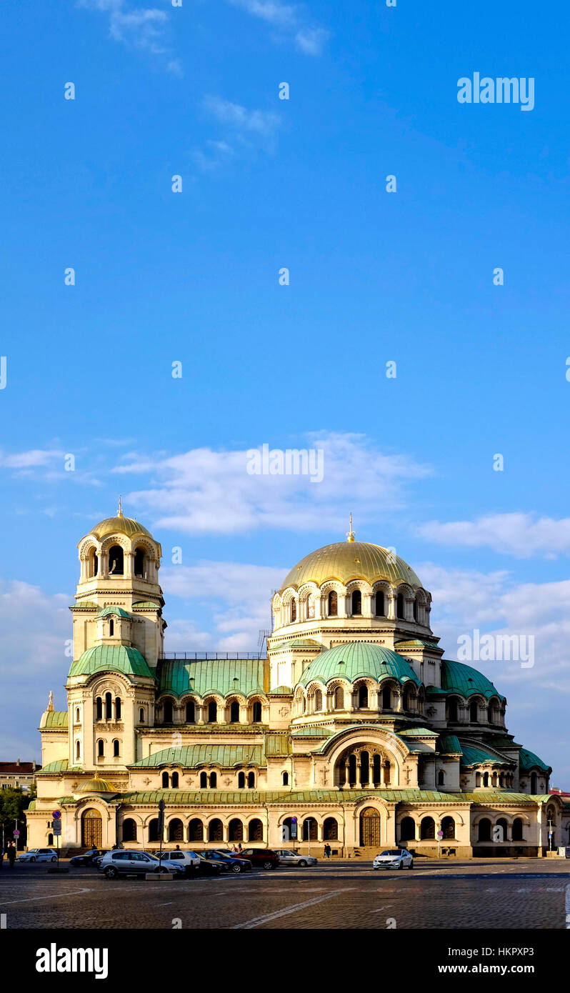 Alexander Nevsky Cathedral, Sofia, Bulgaria - Stock Image