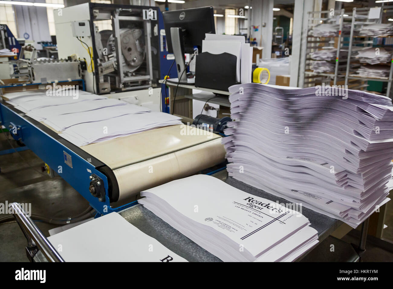Louisville, Kentucky - The American Printing House for the Blind, which prints braille books and other products - Stock Image
