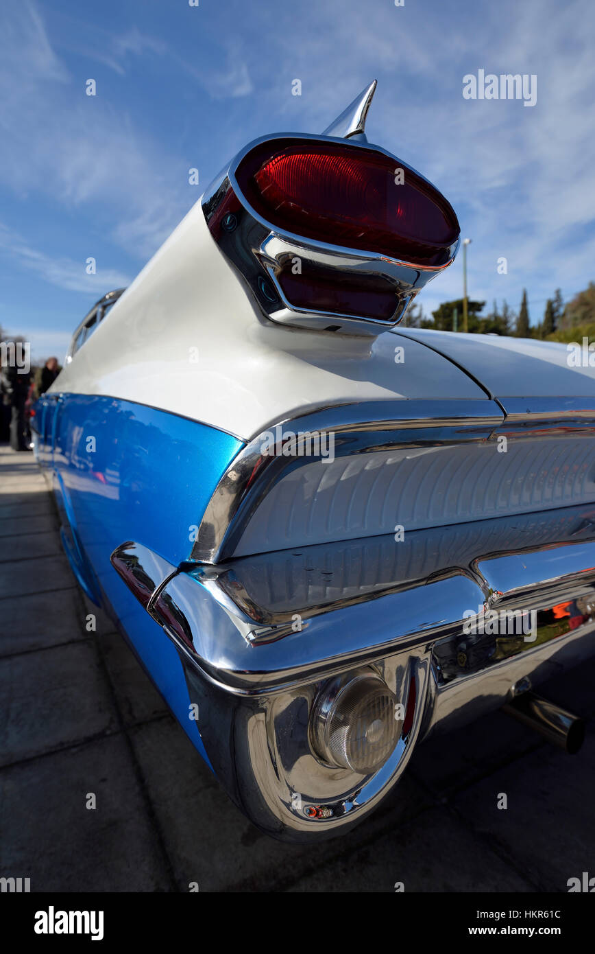 Tail lights of 1959 Oldsmobile Dynamic 88 - Stock Image