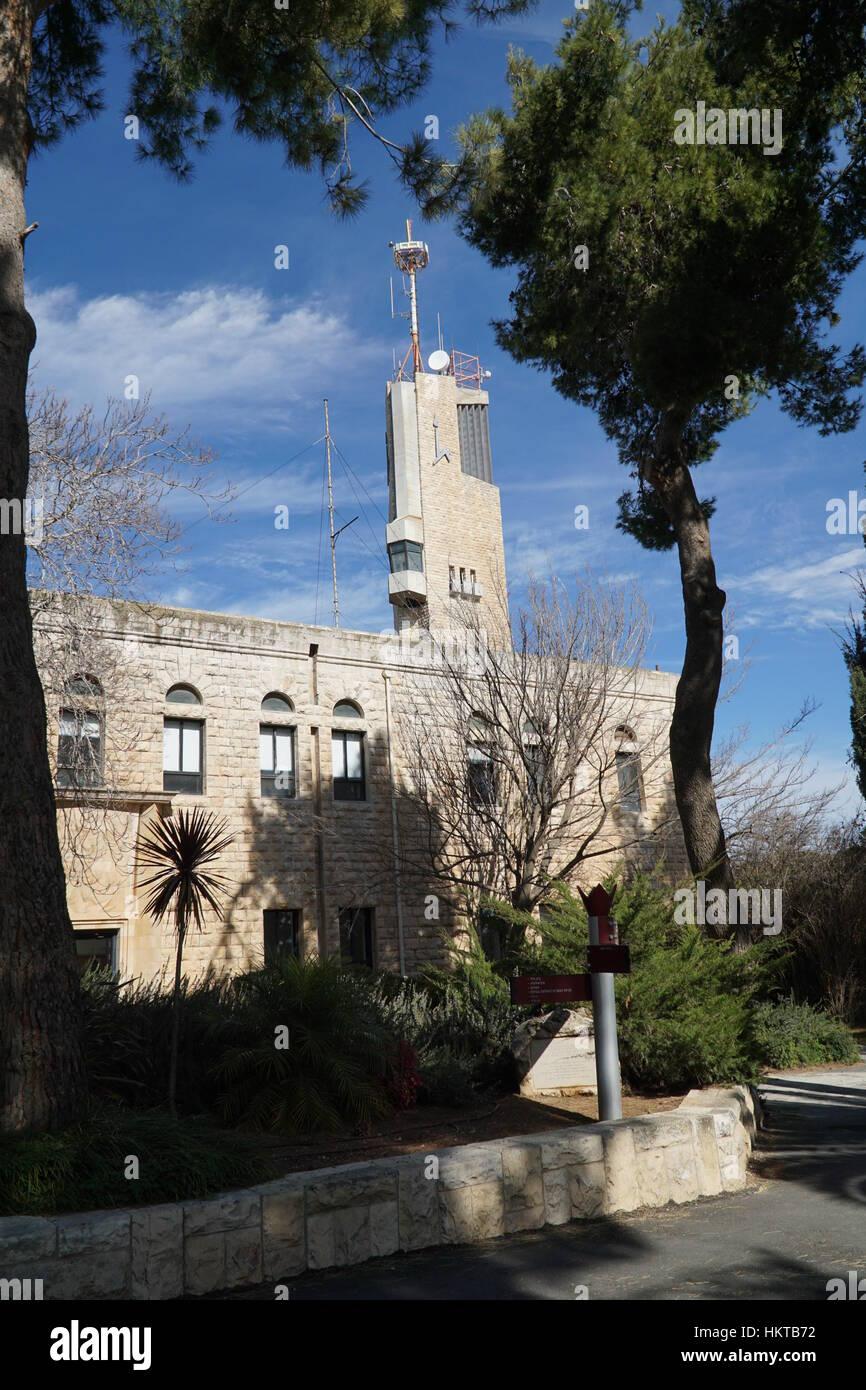 Hebrew University, Jerusalem, Israel building - Stock Image