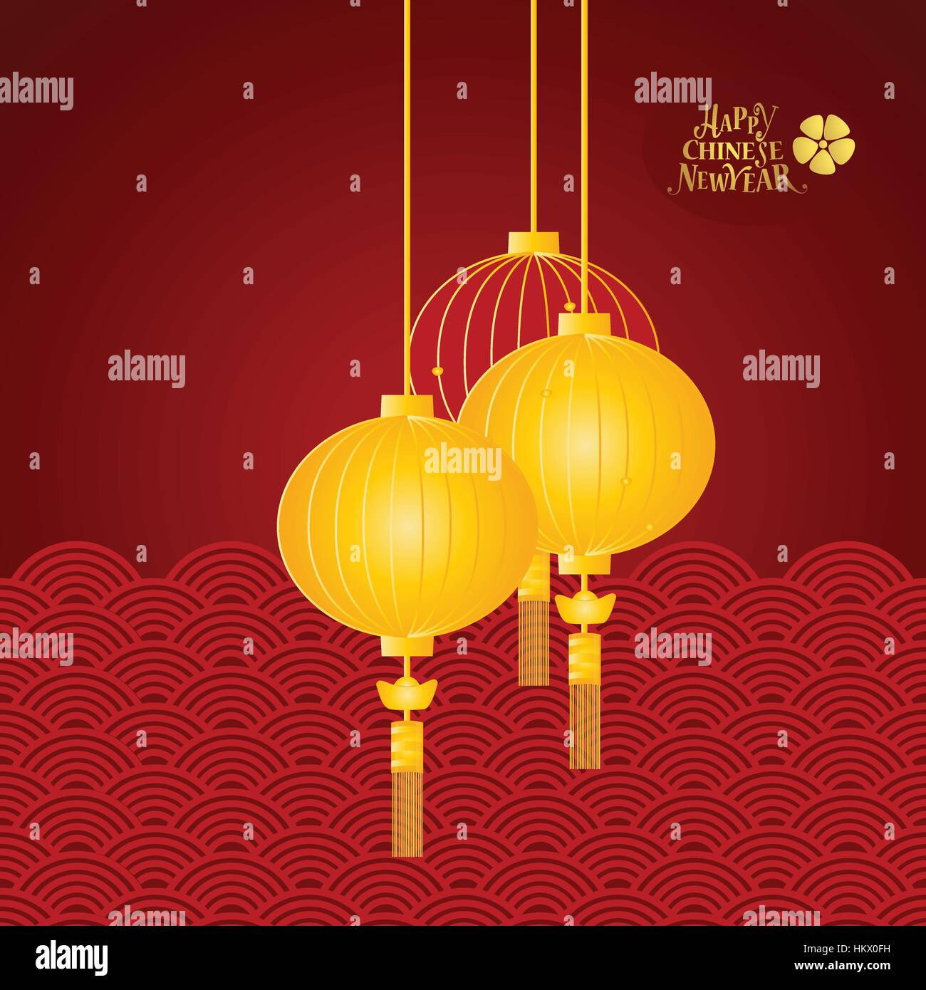 chinese new year background design vector illustration