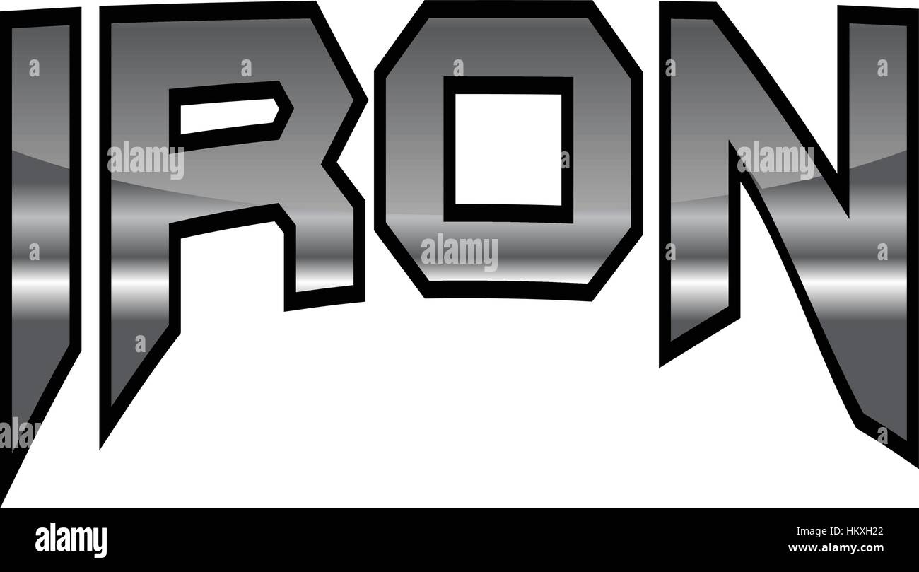 Iron - Stock Image