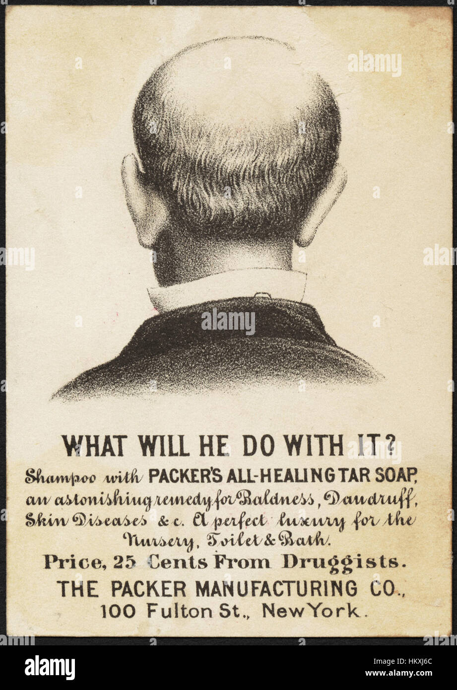 Packer's Florida Water Soap, a combination of the purest and most delicate detersive ingredients with refined vegetable Stock Photo
