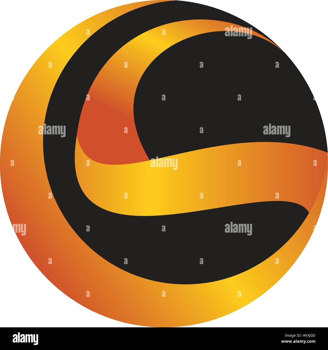Logo Initial S - Stock Image