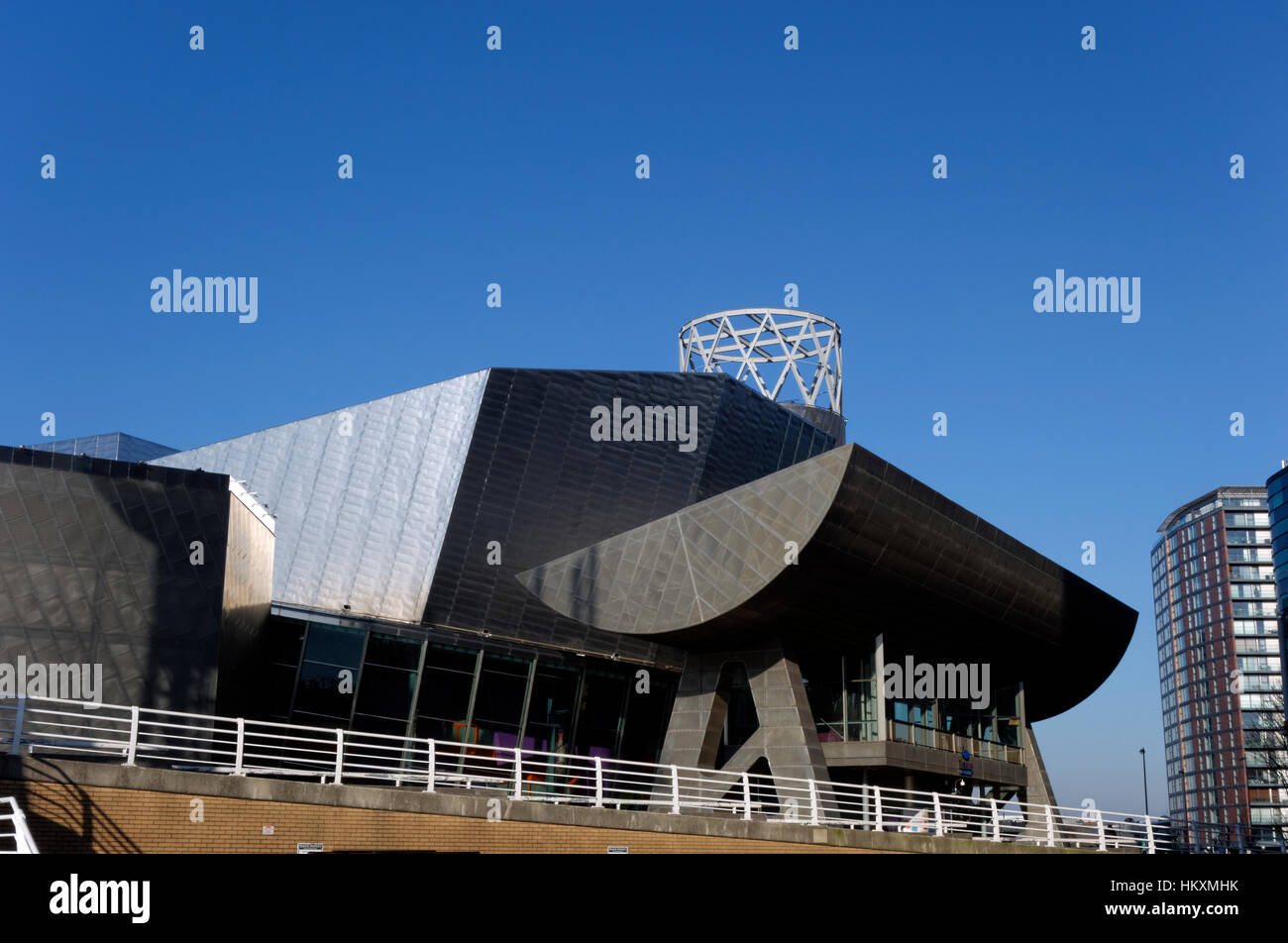 The Lowry, Salford Quays, Salford, Manchester, UK. - Stock Image