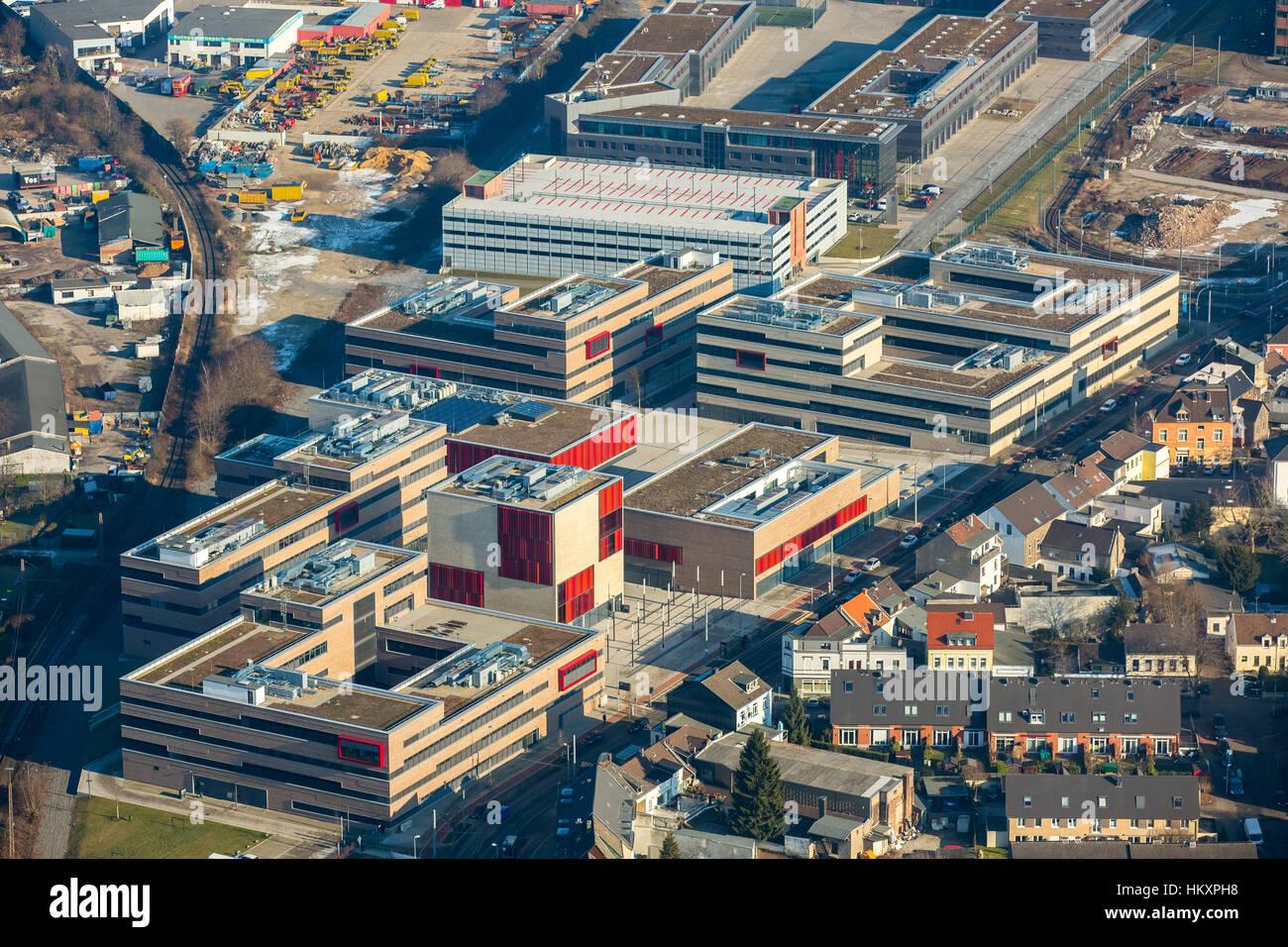 University, college, Ruhr West, campus, Mülheim, Ruhr area, North Rhine-Westphalia, Germany - Stock Image