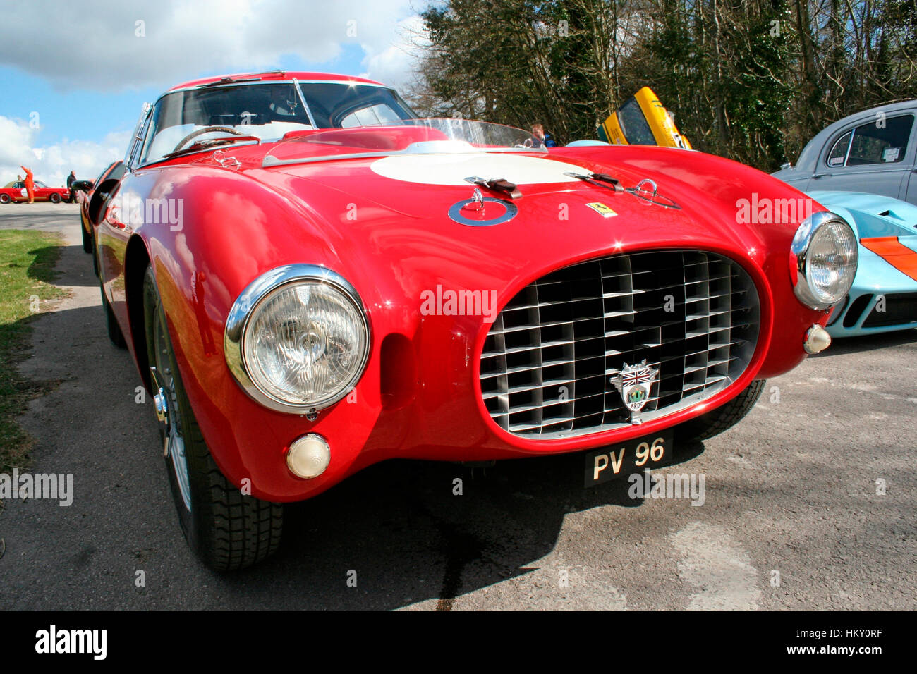 1953 Ferrari 340MM ch.0320AM Goodwood Press Day PV - Stock Image