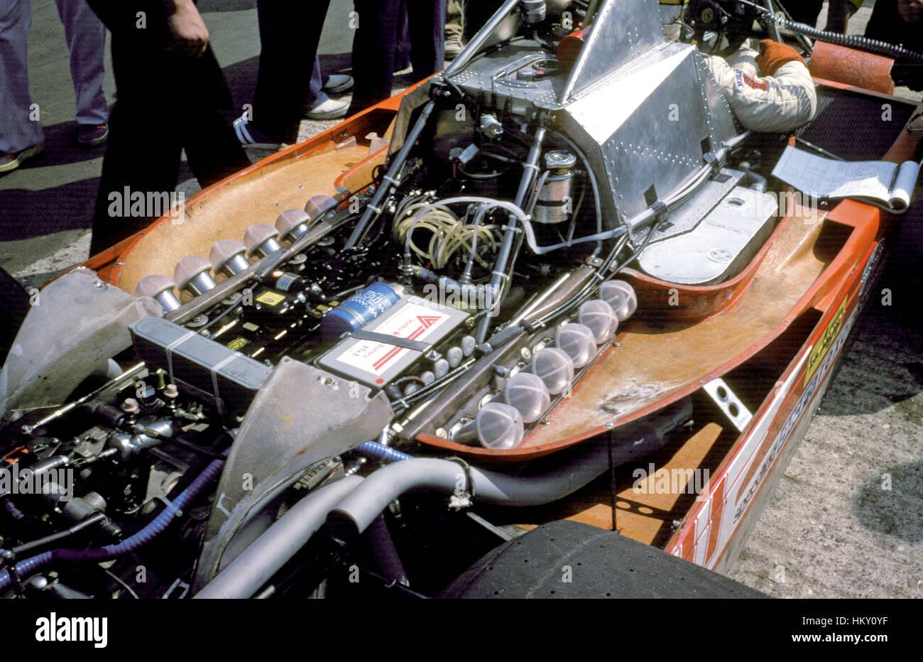 1975 Ferrari 312T Motor GG - Stock Image