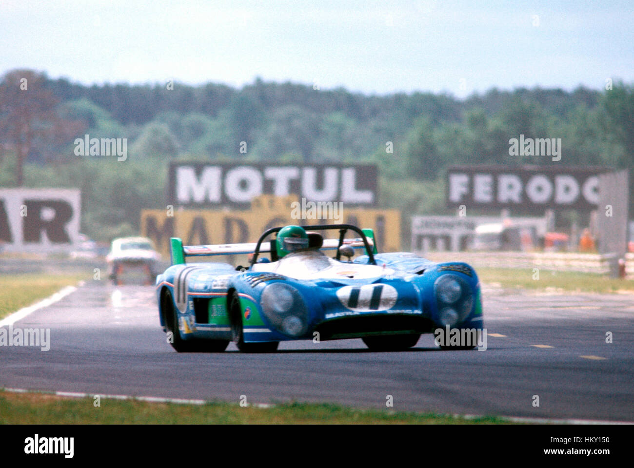 1973 Henri Pescarolo French Matra MS670 Le Mans 24 Hours 1st GG - Stock Image