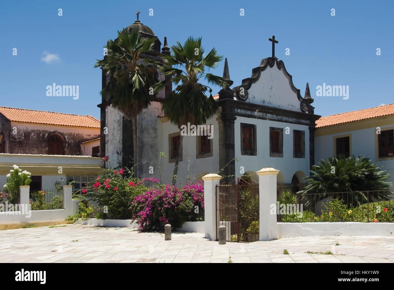 Académia Santa Gertrudes, Olinda, Pernambuco state, Brazil, UNESCO World Heritage Site Académie Santa - Stock Image