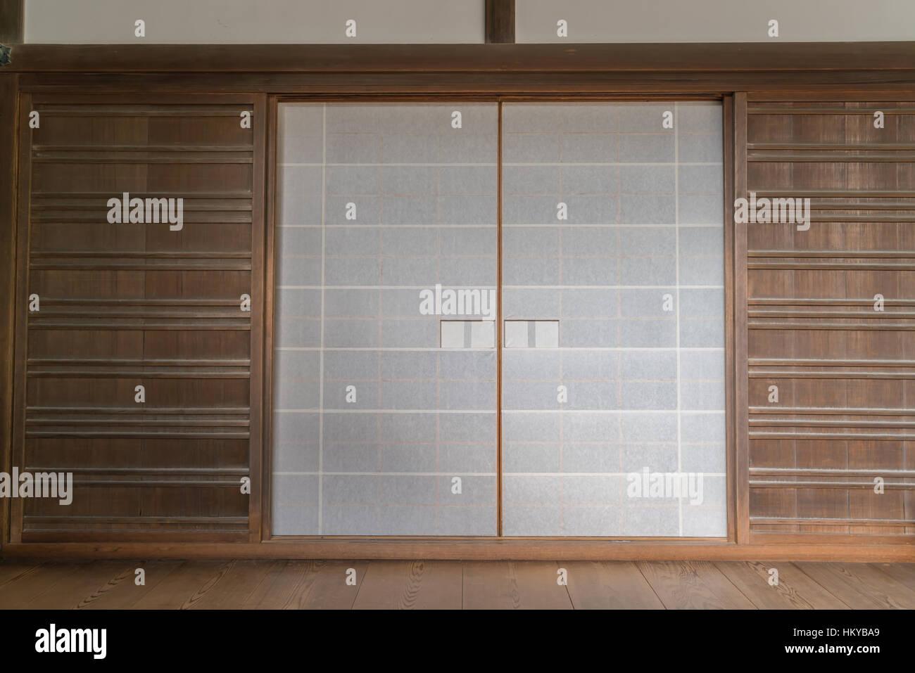 Japanese Screen Glass Room Stock Photos U0026 Japanese Screen ...