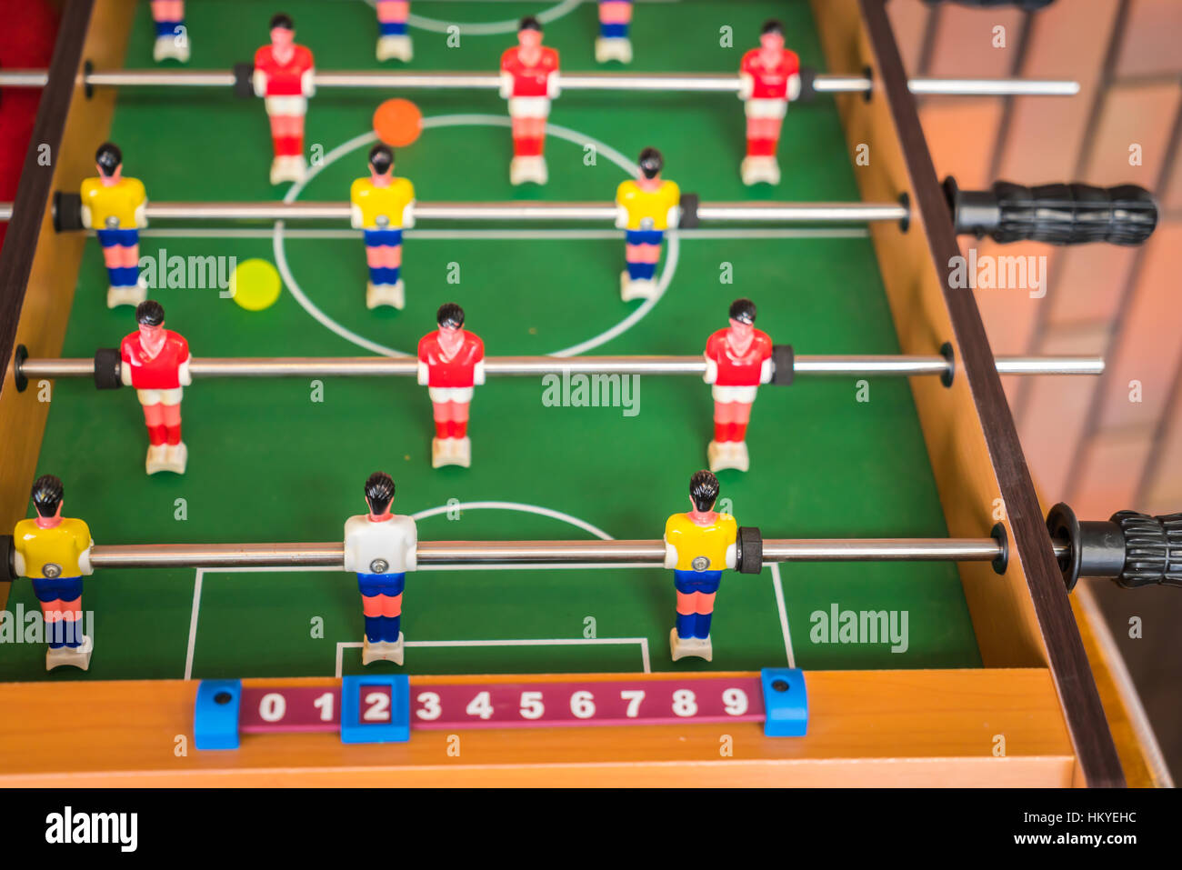 Football table game - Stock Image