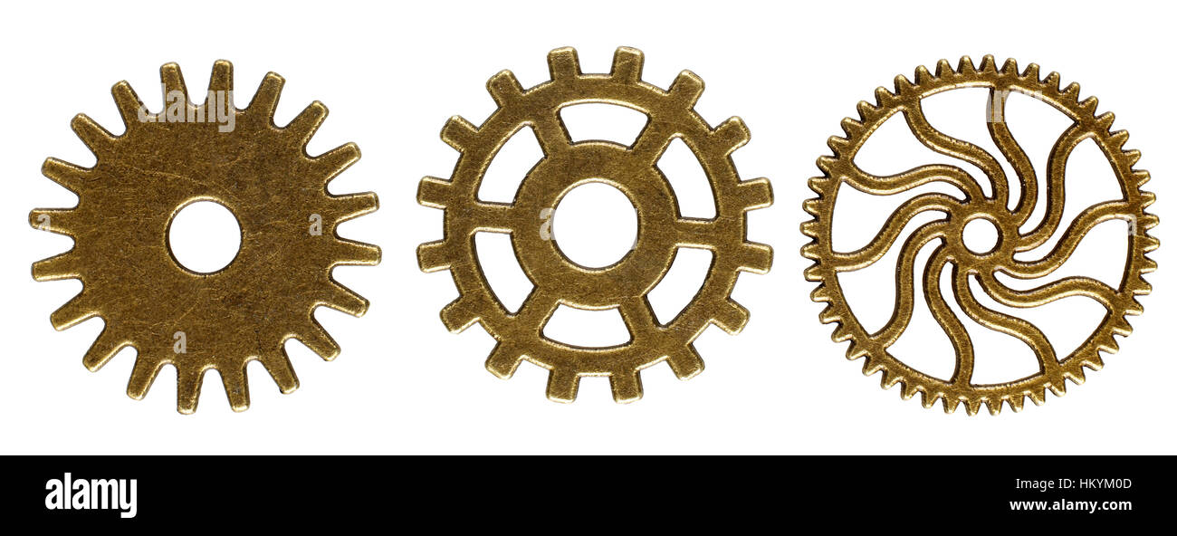 Collection of gears - Stock Image