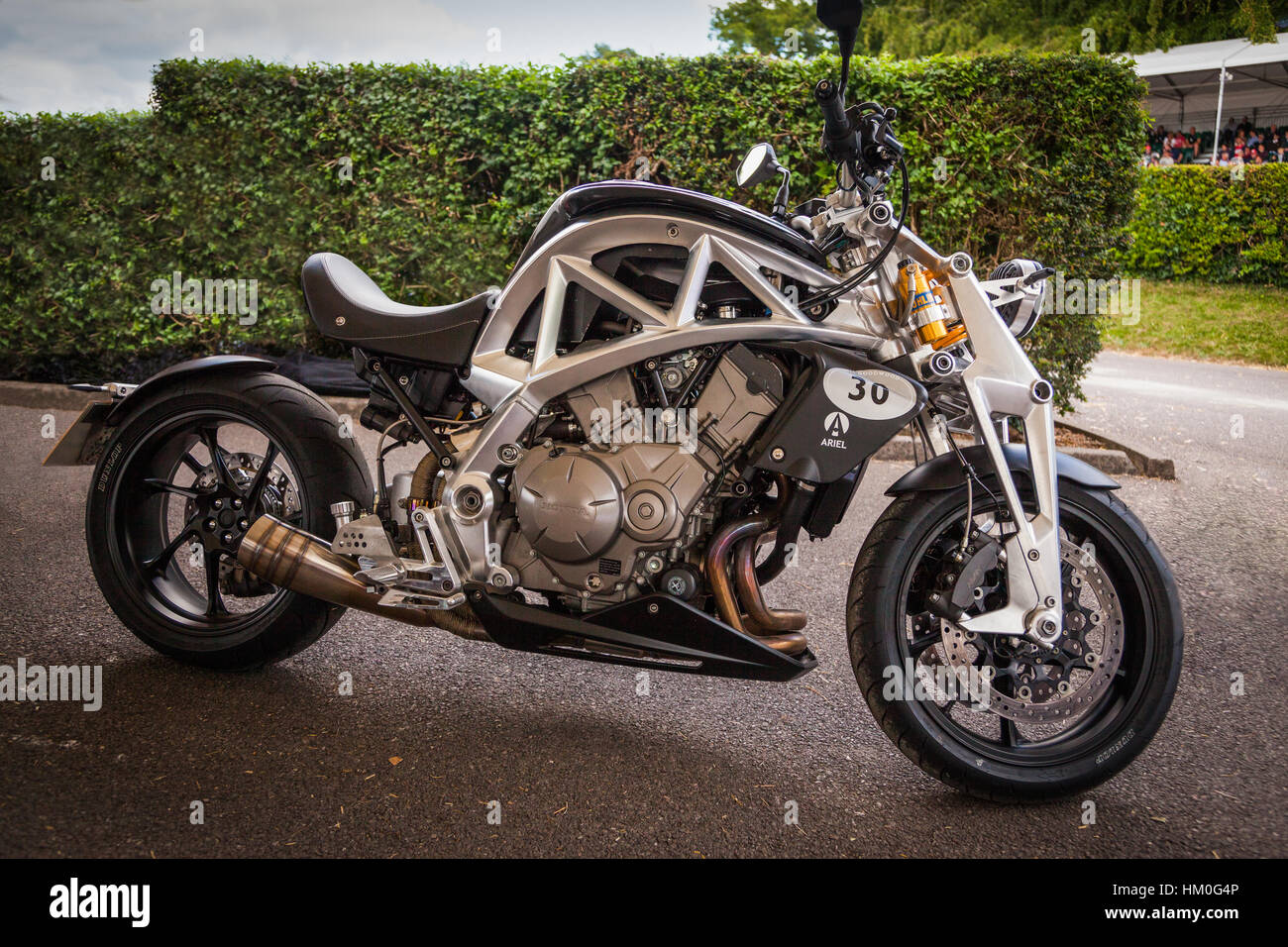 2014 Ariel Motorbike At Goodwood Festival Of Speed 2014   Stock Image