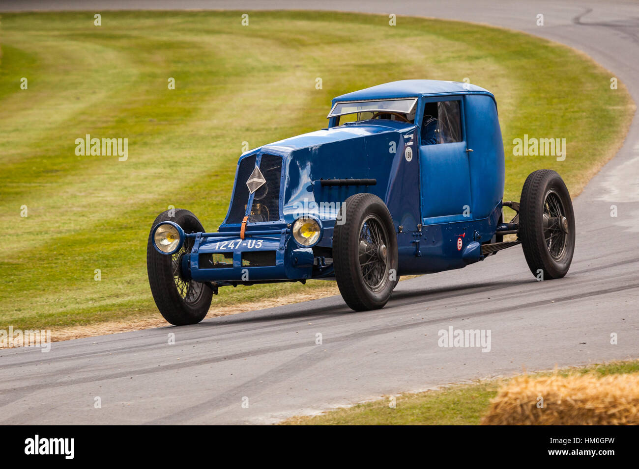 Montlhery Coupe historic racing car at Goodwood Festival of Speed 2014 - Stock Image