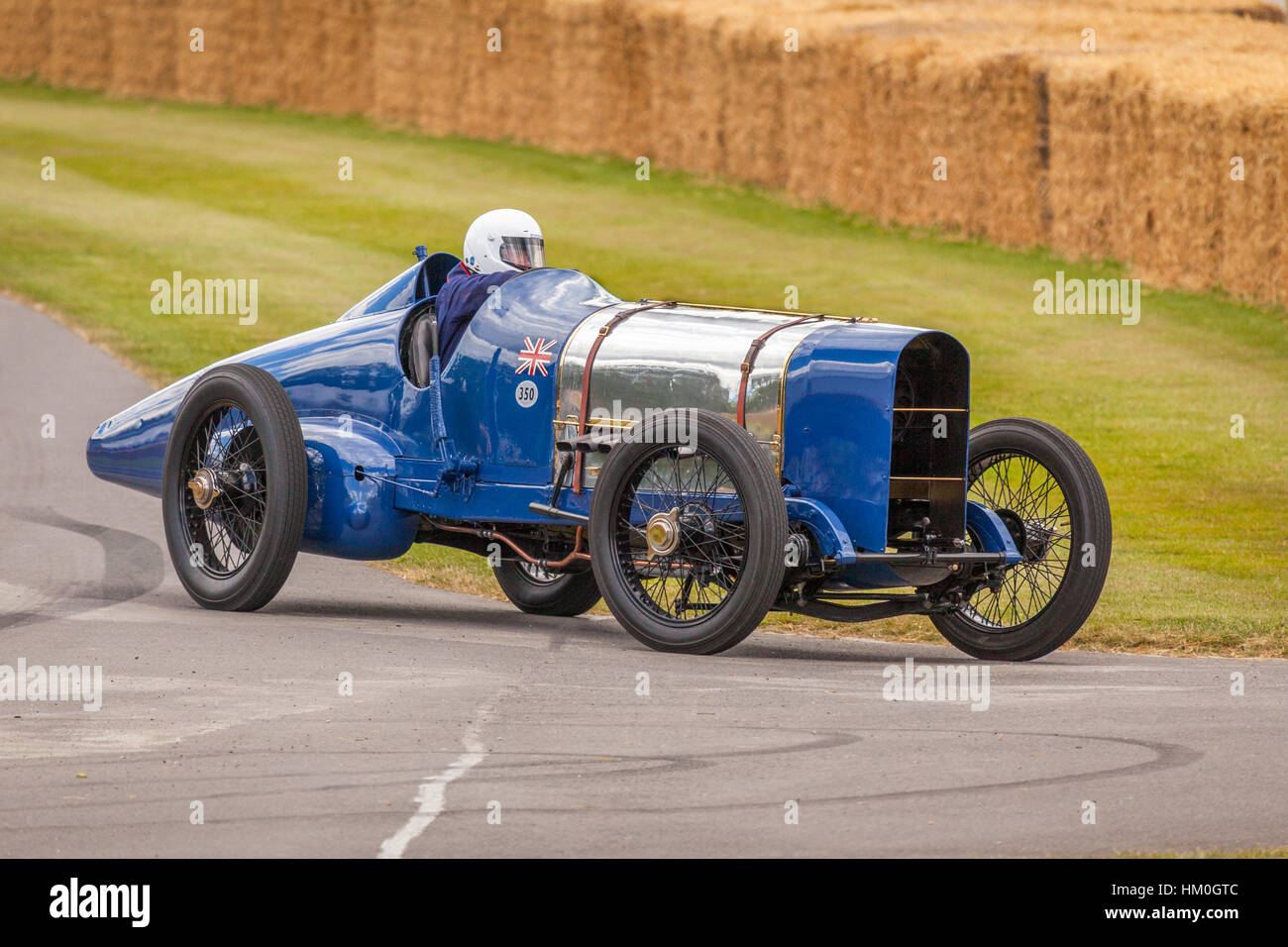 150 Mph Stock Photos Images Alamy Circuit Map For Bromyard Speed Festival Sunbeam Blue Bird Vintage Record Car At Goodwood Of 2014 Image