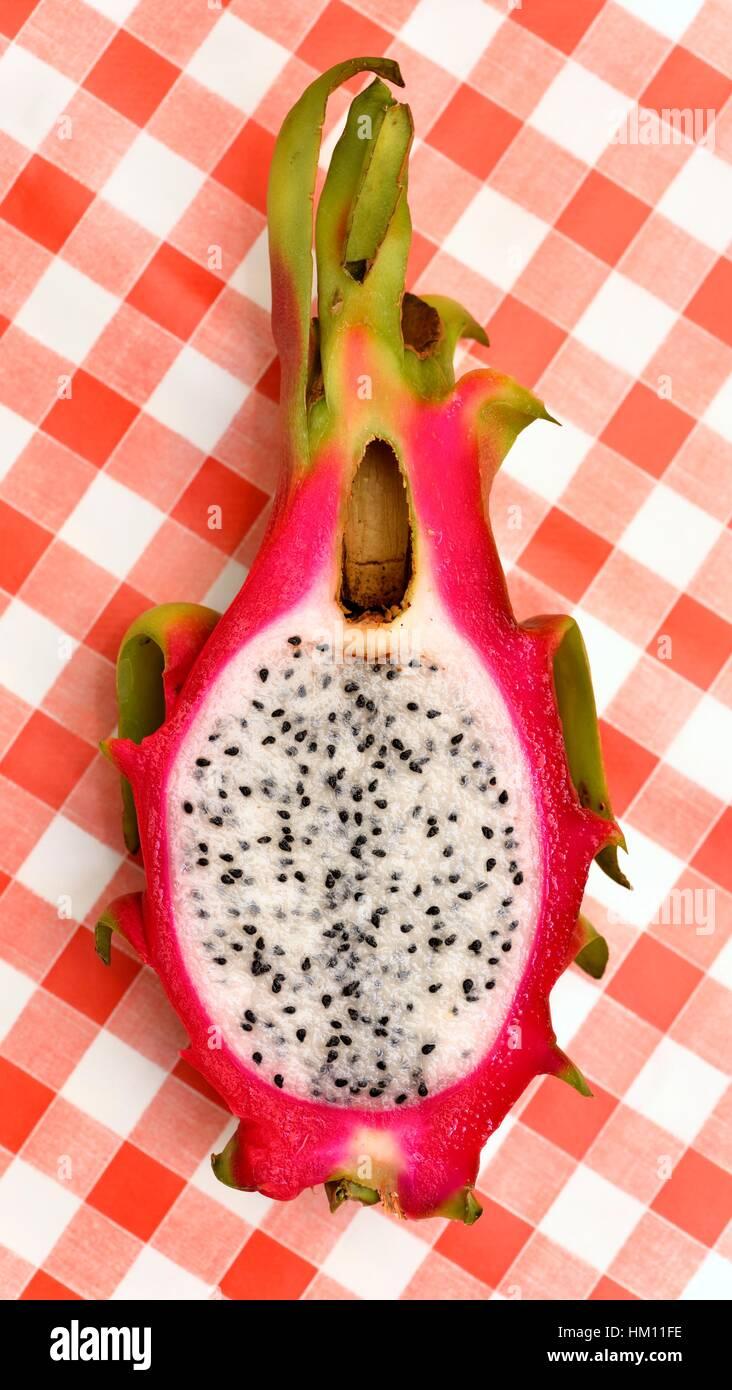 Dragon fruit. - Stock Image