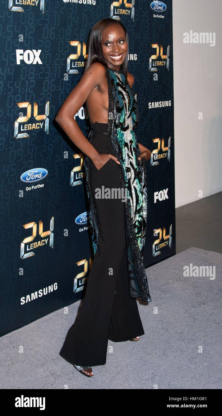 Anna Diop at arrivals for 24: LEGACY Premiere, Spring