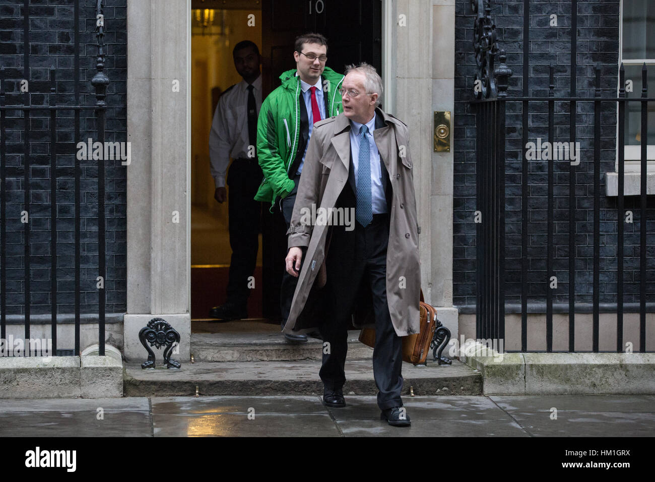 London, UK. 31st January, 2017. Myron Ebell, the controversial climate change sceptic and adviser to President Donald - Stock Image