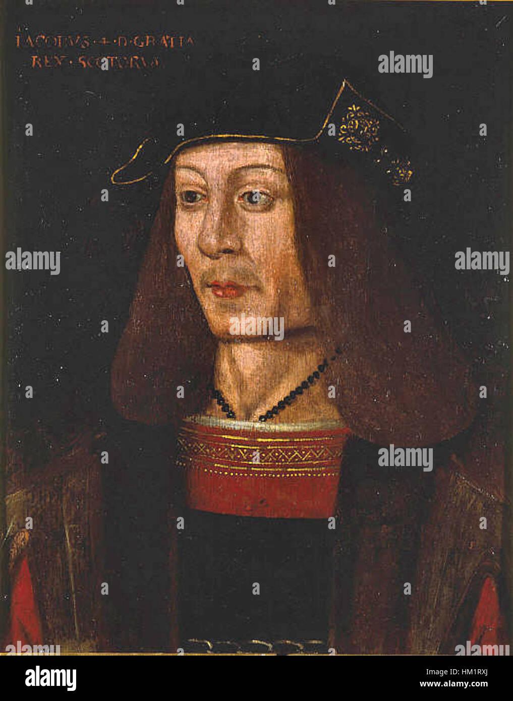 James IV of Scotland - Stock Image