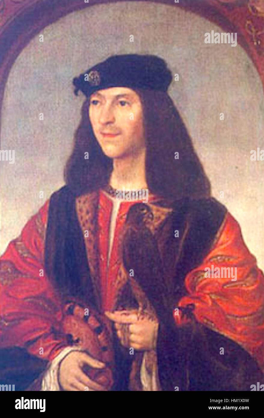 James IV King of Scotland - Stock Image