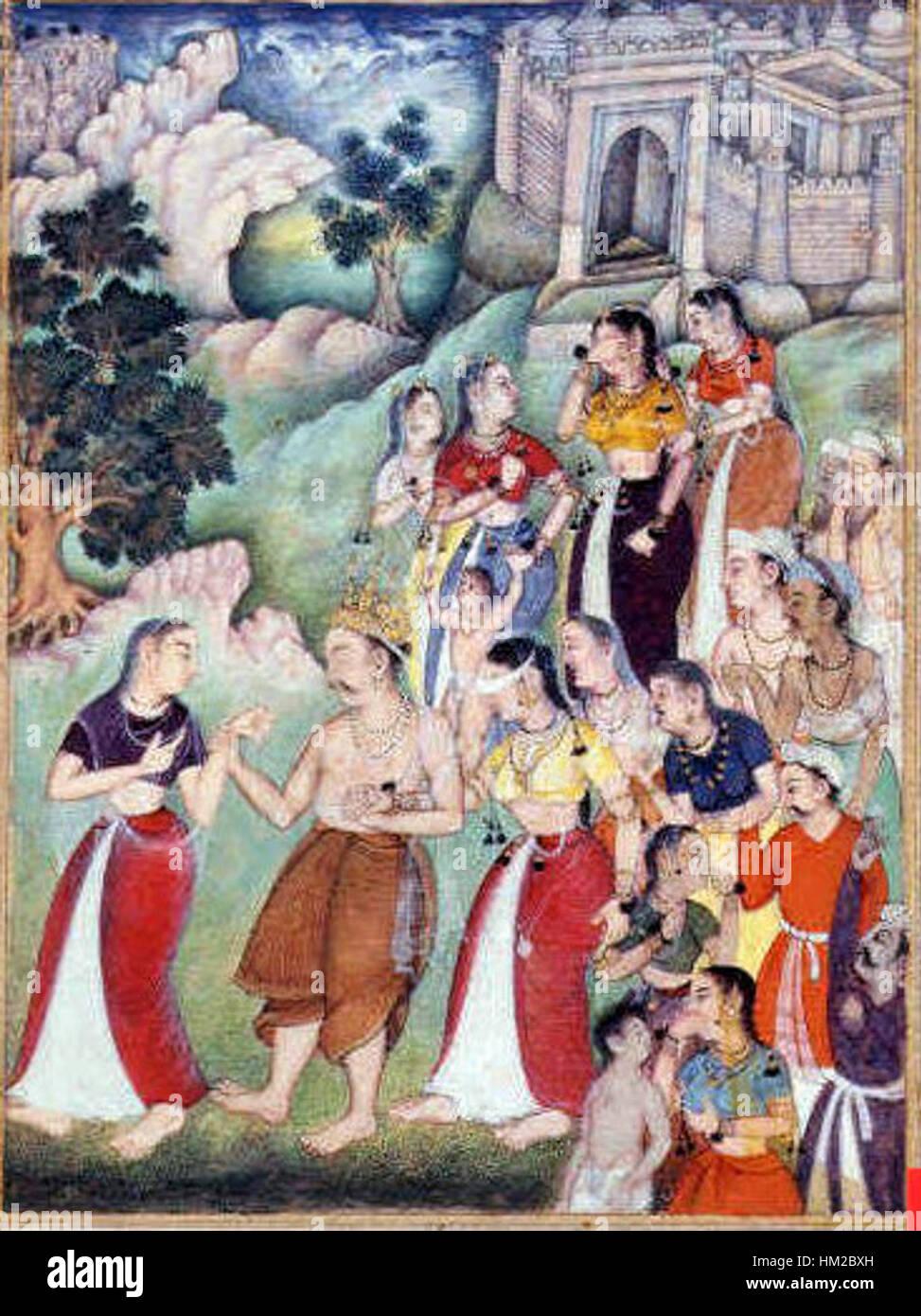 Image result for gandhari kunti