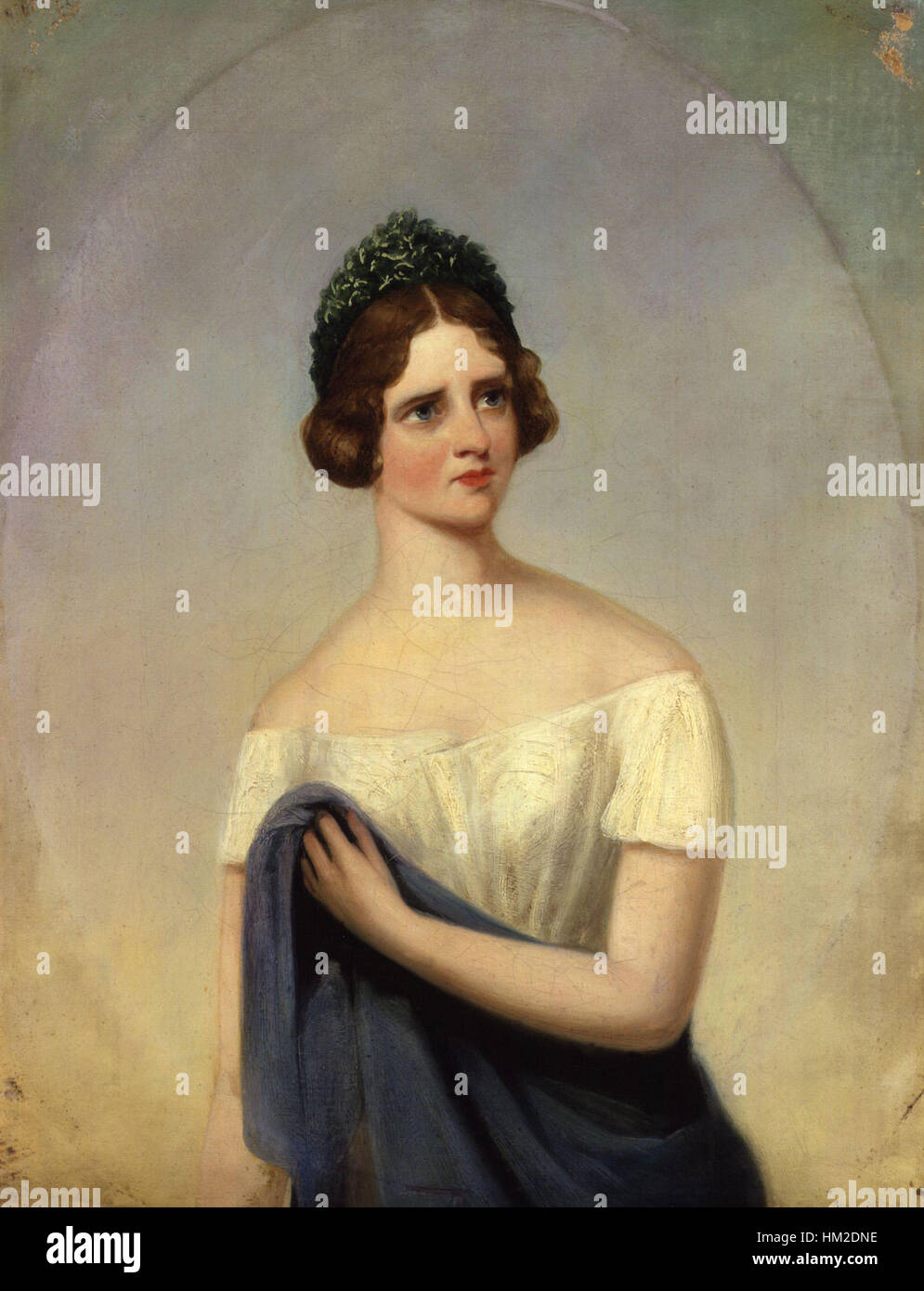 Johanna Maria ('Jenny') Lind by Alfred, Count D'Orsay - Stock Image