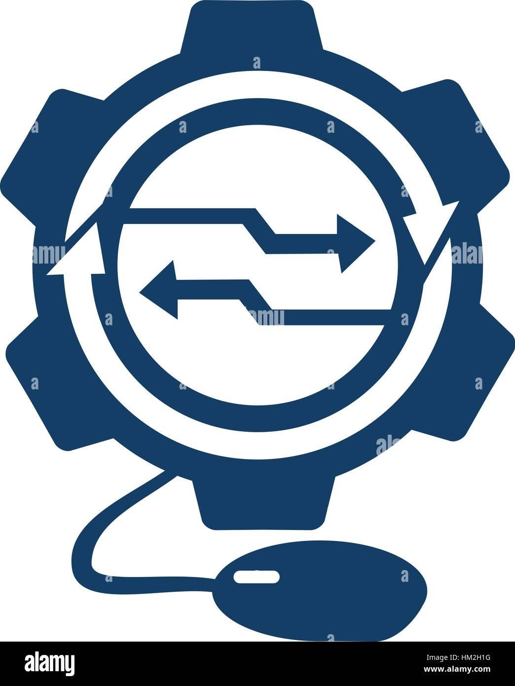 Digital Technology - Stock Image
