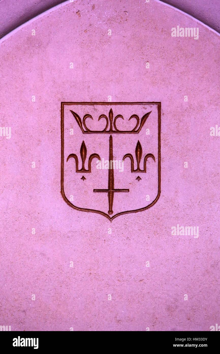 Emblème. - Stock Image